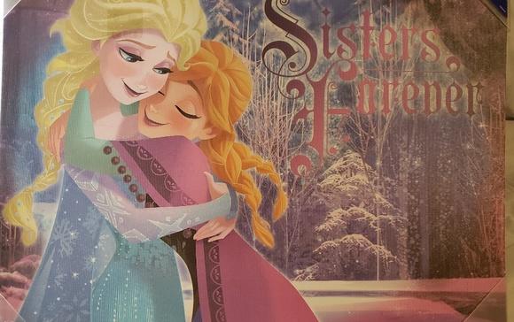 "Disney Other - Disney print  ""Sisters Forever """